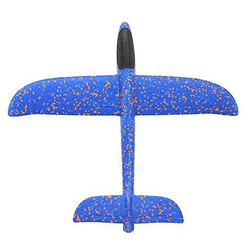 Matthew00Felix Hand Throwing Aircraft Foam Glider Color Foam Swinging Aircraft