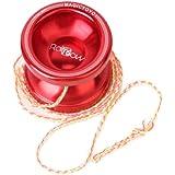 Magic Yo-Yo T6 Super Bow Red Professional YoYo w/ String
