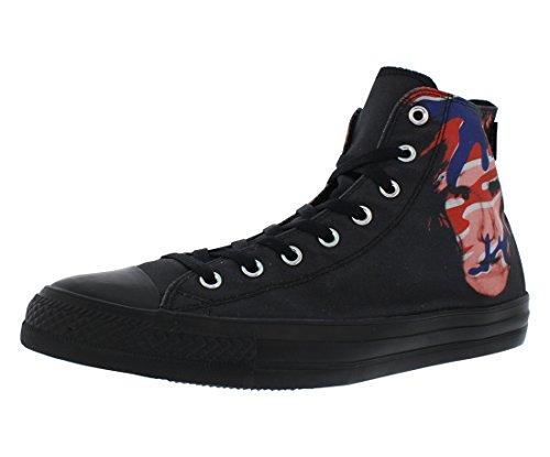 Converse Warhol All Star Hi Herren Sneakers Schwarz Schwarz