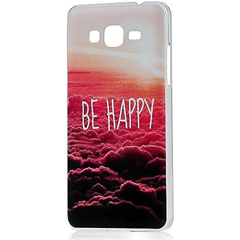 Samsung Galaxy Grand Prime Funda ,Lanveni Chic Fundas Carcasas rígida ultrafina para Samsung Galaxy Grand Prime G530,SM-G530H G5308W HardCase(Patrón Nubes
