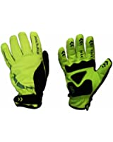 Polaris Kid's RBS Mini Hoolie Cycle Gloves Fluo Yellow/Black Medium