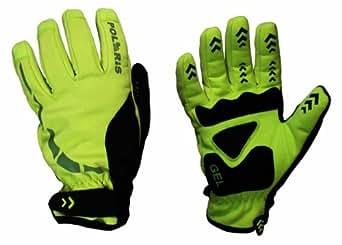 Polaris Kid's RBS Mini Hoolie Cycle Gloves Fluo Yellow/Black Small