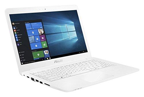 """Asus L402SA-WX306TS PC Portable 14"""" Blanc (Intel Celeron, 4 Go de RAM, SSD 32 Go, Windows 10) + Office 365 Personnel inclus pendant 1 an"""
