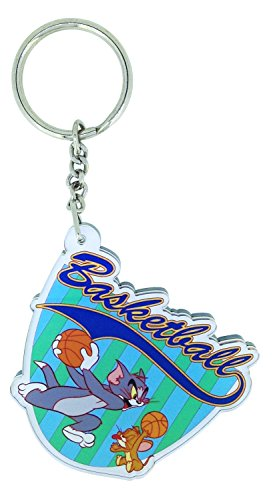 WB Tom n Jerry Basket ball Keychain / keyring for Home / Luggage / Car / Bike / Vehicle  available at amazon for Rs.119