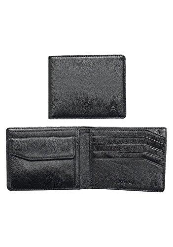 Nixon Arc Bi-Fold Wallet Münzbörse, All Schwarz -