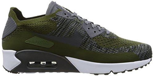 Nike Air Max 90 ultra 2.0 Flyknit Rough Green/Dark Grey-white