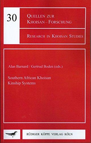 Southern African Khoisan Kinship Systems
