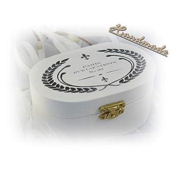 Holzschachtel Box Schatulle 'Lafayette' handmade Unikat