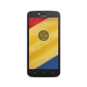 Motorola Moto C Plus Smartphone Portable Débloqué 4G (Ecran: 5 pouces - 16 Go - Double Nano-SIM - Android) Rouge Cerise