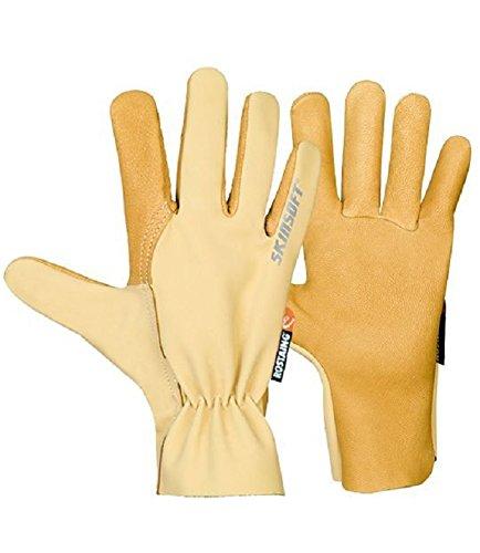 Rostaing Fahrer Evolution Premium Leder palmed Arbeit Handschuh, Driver Evolution