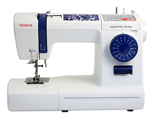 Toyota Jeans 17C Eléctrico - Máquina Coser Blanco