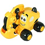 Babysid Collection JCB Toys For Kids Excavator Toys For Boys Friction Toys Kids Gifting Excavator Small Toy Size : L- 12 X W- 6 X H- 8 Cm