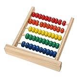 Fliyeong Premium Mini Abacus Kinder Frühe Mathematik Lernspielzeug Zahlen Zählen Berechnen Perlen Lernspielzeug -