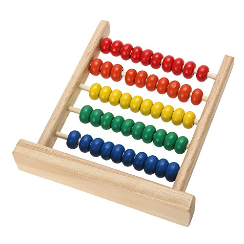 Ogquaton Premium Mini Abacus Niños Matemáticas tempranas Aprendizaje de números de Juguete...