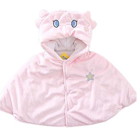 bebé Cloak Mantón Baby Blankets doce constelaciones bebé Cloak Pink Virgo