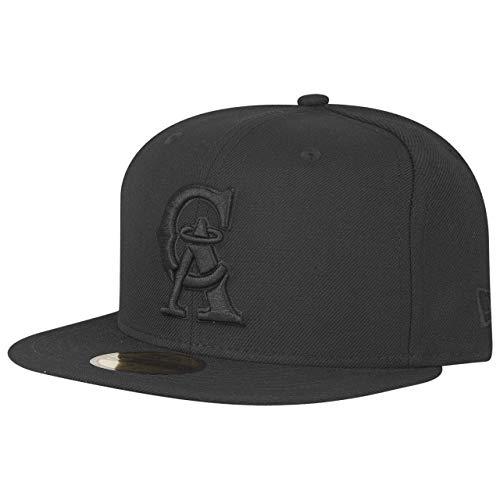 New Era 59Fifty Cap MLB Black California Angels Cooperstown -