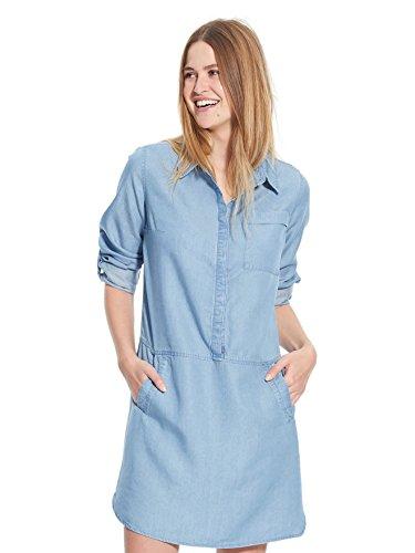 Balsamik - Robe fluide, stature - d'1,60m - femme Bleu clair