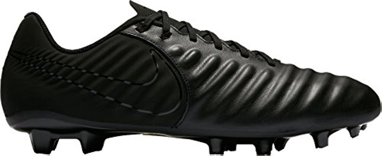 Nike Tiempo Ligera IV FG, Botas de Fútbol para Hombre, Negro (Black/Black/Black 001), 42 EU