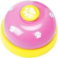 Naisicatar Haustier-Trainingsgerät für Hunde, Welpen, Zum Trainieren von Tinkerbläschen und Kommunikationsgeräten # Rosa # X 1