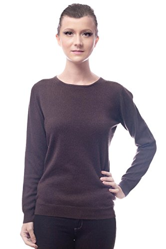Cashmere ALIX-Pullover da donna Marrone