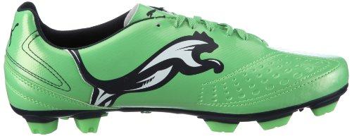 Puma V5.11 I Fg 102337 Scarpe Sportive Da Uomo - Verde Calcio / Verde Fluo - Blu Notte