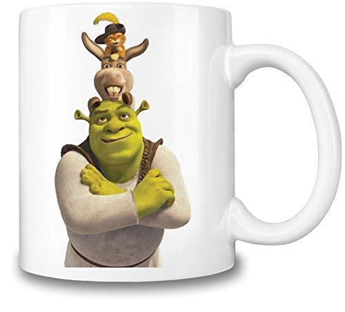 Shrek Team Becher-Schale (Shrek-kaffee-tasse)