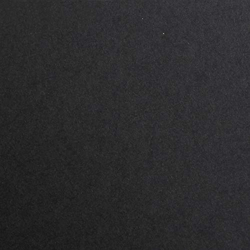 Clairefontaine 48150C Tonzeichenpapier Maya (DIN A2, 42 x 59,4 cm, 270 g, ideal für Trockentechniken, 25 Bögen) schwarz