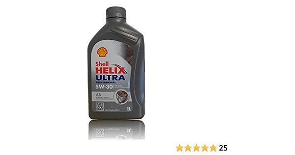 Shell 550040589 Helix Ultra Professional Ab 5w 30 1l 1 L Auto