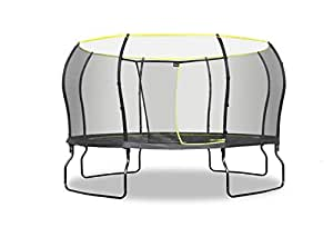 Rebo 14FT Air Launch II Trampoline With Halo Enclosure