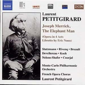 Joseph Merrick, the Elephant M
