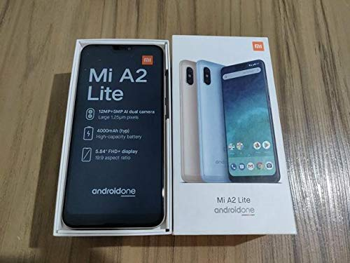 "Xiaomi Mi A2 Lite 5.84\"" SIM Doble 4G 3GB 32GB 4000mAh Negro - Smartphone (14,8 cm (5.84\""), 3 GB, 32 GB, 12 MP, Android, Negro)"