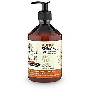 REZEPTE DER OMA GERTRUDE – Aufbau Shampoo – Reinigt mild & sanft – Wirkt strukturverbessernd – Mit Vitaminen & Aminosäuren – 500 ml