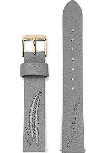Rosefield Damen Leder Uhrenarmband CILG-S165