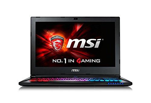 MSI GS60-6QE16H11 39,6 cm (15,6 Zoll) Laptop (Intel Core i7 -6700HQ (Skylake), 16GB DDR4 RAM, 1TB HDD, 128GB SSD, NVIDIA Geforce GTX 970M, Win 10 Home) schwarz Msi-bluetooth-adapter