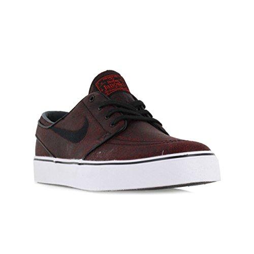 Nike - Zoom Stefan Janoski Elite, Scarpe in stile skater Uomo CHALLENGE RED/BLACK-BLACK-BLK