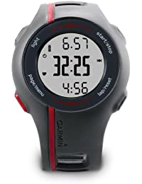 Garmin Forerunner 110 GPS Running Watch with Heart Rate Monitor - Grey/Red