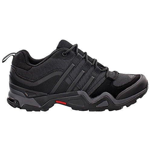 Adidas Outdoor-Terrex Fast-X Wanderschuh - Schwarz / Dunkelgrau / Leistung Rot 6 Black/Dark Grey/Power Red