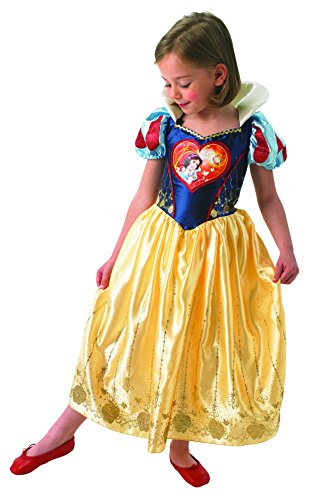 Rubies IT610278-S -Costume per Bambini Biancaneve Love Heart, S