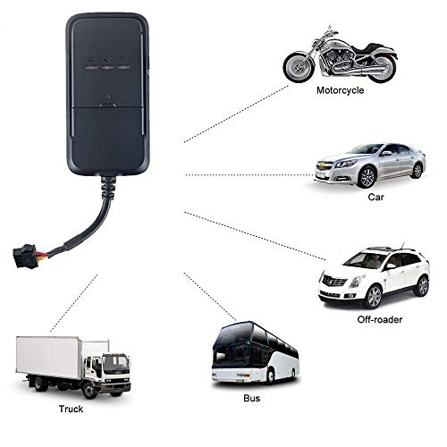 ITALIA GPS Plastic Real Time GPS/GSM/GPRS Tracker for Bikes/Car/Truck/Bus/Vehicle's Tracking Device with in-Built Battery and Anti Theft Alarm