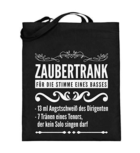 Zaubertrank für Bass Sänger Chor - Jutebeutel (mit langen ()