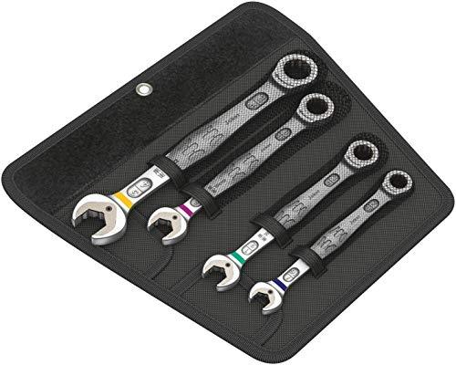 Wera jokerset 4 inch 05020010002 Jeu de clés mixtes à cliquet système impérial 4 pièces