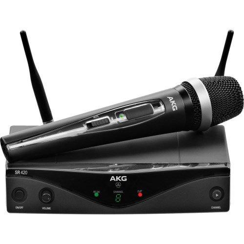 AKG Vocal WMS di 420capsula D di 5Wireless microfono a mano Band M