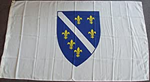 Flagge Fahne Bosnien-Herzegowina bis 1998, ca. 90 x 150 cm