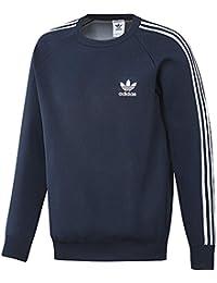 Adidas Knit Crew - Sudadera, Hombre, Azul (Maruni), M