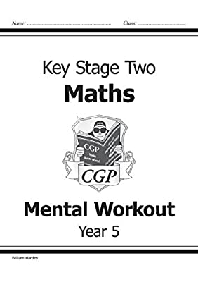KS2 Mental Maths Workout - Year 5 (CGP KS2 Maths) from Coordination Group Publications Ltd (CGP)