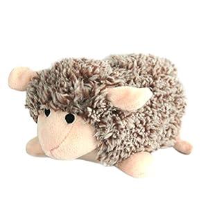 UEETEK Produits pour animaux de compagnie Jouets en peluche Jouets pour chiens Pet Cats Cute Biting Sound Chew Toys Small Sheep Design