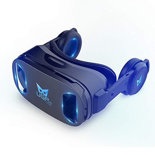 liangjing gafas vr 3d realidad virtual 5g consola de juegos montada en la cabeza protección de ojos blu-ray,fvirtual