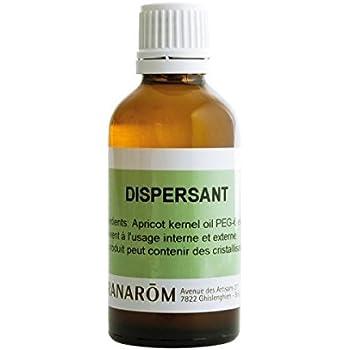 Pranarom - Dispersant pour huiles essentielles - 50 ml flacon - Dilue les huiles essentielles, usage