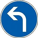 Vorgeschriebene Fahrtrichtung links Verkehrsschild StVO, Nr. 209-10, 42 cm