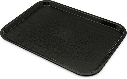 Genware NEV-CT1216-03 Café-Tablett, 30,5x 40,6cm, Schwarz
